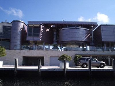 Ex-Enron employee's newly finished home. Ugliest piece of shit. EVER.