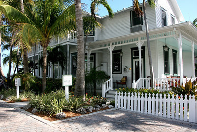 Scenes from the Dewey House and the La Mer Bed & Breakfast (Key West) / June 4 to 7, 2008