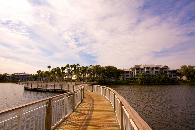 We were lucky to be able to stay at the Marriott Cypress Harbour resort through a friend from Cly's work.