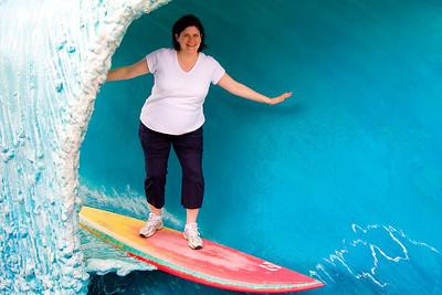 Darcie always wanted to surf