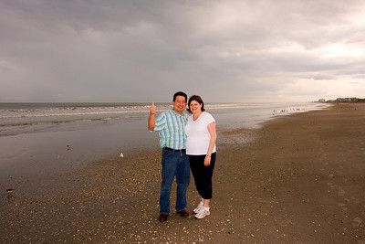 We're at Cocoa Beach, a short drive from Kennedy Space Center