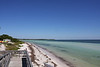 Bahia Honda is unique among other islands in the Keys because it has extensive sandy beaches and deep waters close enough offshore to provide exceptional swimming and snorkeling.  This is one of the many beaches within the park.