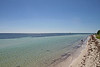 Bahia Honda is unique among other islands in the Keys because it has extensive sandy beaches and deep waters close enough offshore to provide exceptional swimming and snorkeling.  This is one of the many beaches within the park. [B]