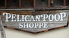 <b>Casa Antigua</b> - <b>Pelican Poop Shoppe</b><br> <br> The Pelican Poop Shoppe, which was opened in 1988, is on the first floor of Casa Antigua.  It is Key West's premier Caribbean arts store which includes works from local artists as well as artists from Haiti, Guatemala, Mexico and South America. [B]