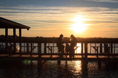 Sunset at JB's Fish Camp