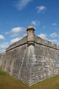 Sentry Post, Castillo de San Marcos