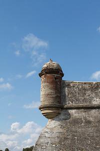 Guarding Castillo de San Marcos