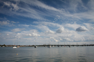 St Augustine Harbor and the Bridge of Lions