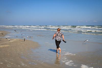Lauralea Chasing Seagulls