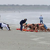 Beach Life Guard training