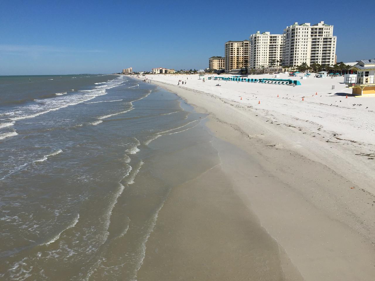 Clearwater  Beach, Florida - February 2015 (iPhone image)
