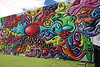 Mural created by Kenny Scharf