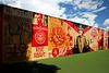 Mural created by Shepard Fairey