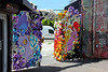 Fafinettes and Wall of Flowers created by Fafi and Goldman