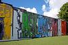 Mural created by Futura 2000