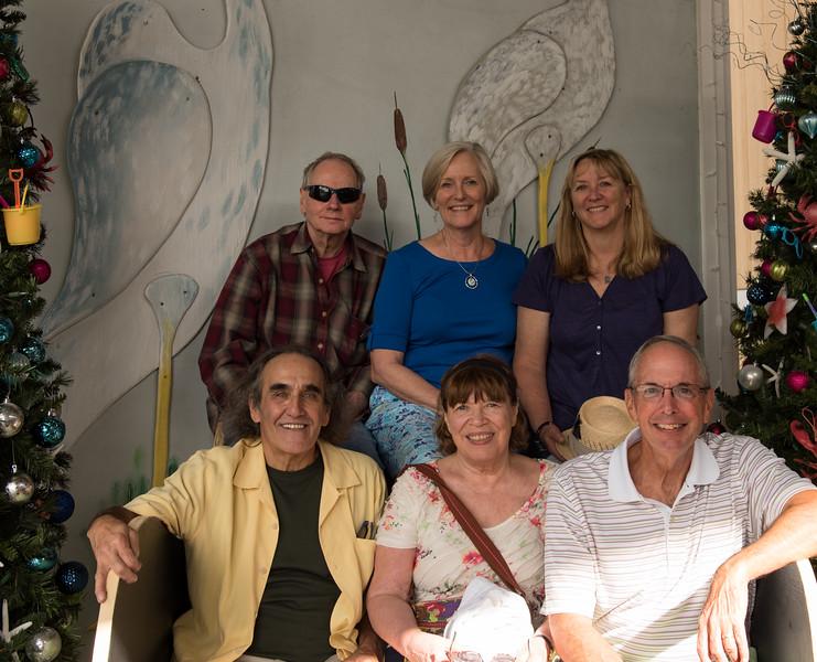 Shelly, Marsha, Amy  Jay, Sarah, Steve