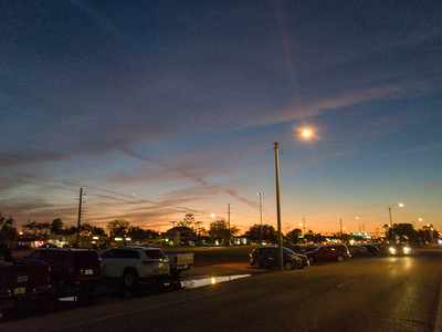 Sunset Over Tamiami Trail