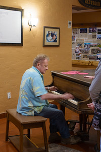 Patrick On Piano, Hurricane Charley's