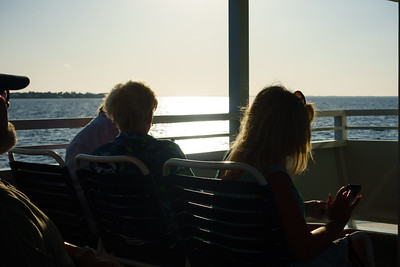 Sunset Cruise Silhouettes