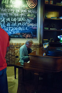 Patrick On Piano, The Blue Turtle