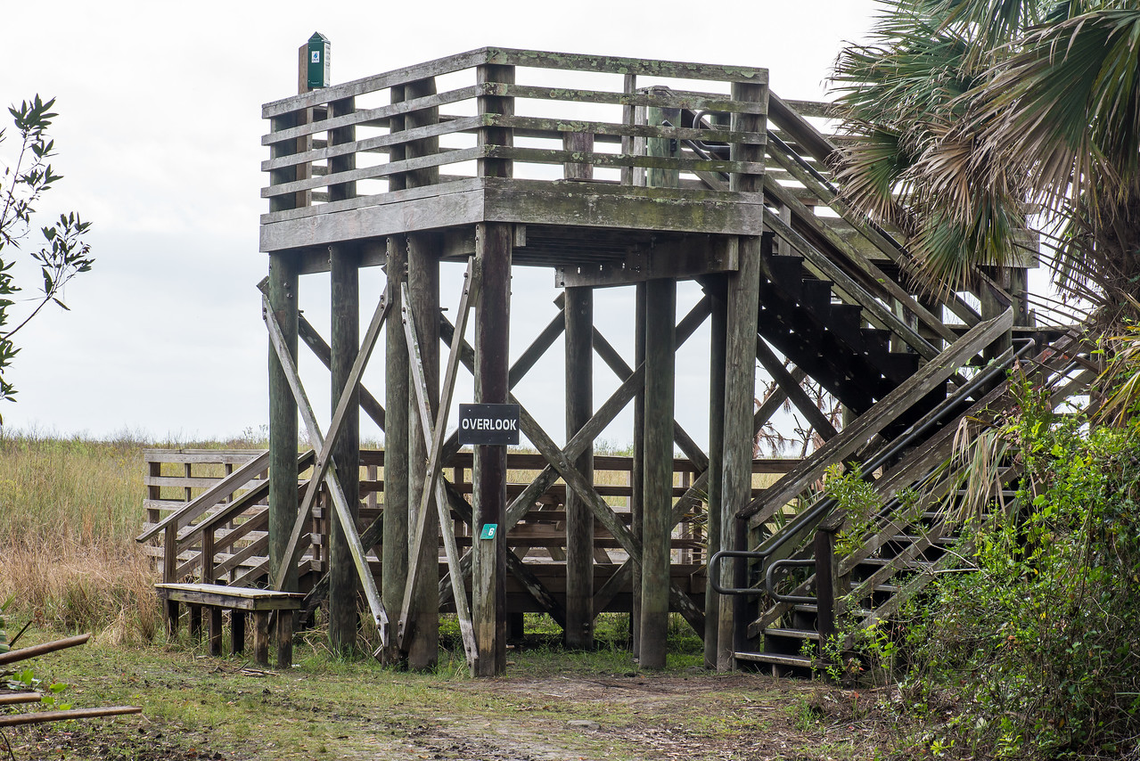 Observational Deck on CREW Marsh Trail, FL - January 2018