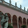 Courtyard at the Ringling Museum