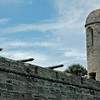 Cannon turrets on Castillo de San Marcos