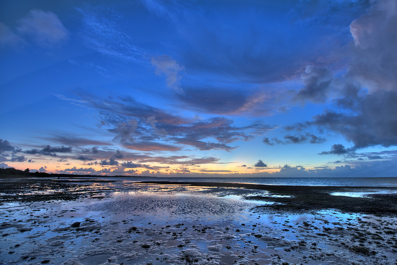 Low tide sunrise at Long Key, Florida