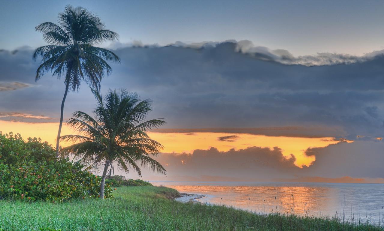 Sunrise.  Bahia Honda Key, Florida