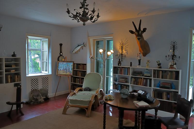 Hemmingway's writing room.