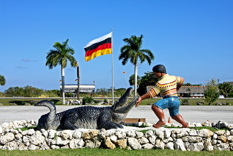 """<b>Miccosukee Indian Village</b> - Just 30 minutes West of Miami in Miami-Dade County, you can experience how the Miccosukee Indian Tribe existed and still exists in the """"Heart of the Everglades."""""""