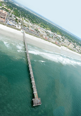 The pier at Jacksonville beach.