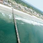 The pier at Jacksonville beach.
