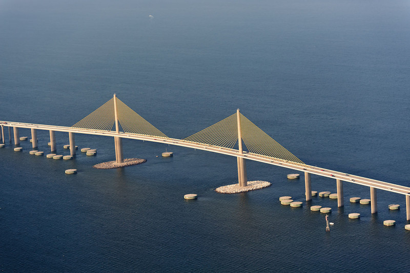 Skyway bridge near St Petersburg, FL