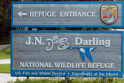 "Welcome to  J. N. ""Ding"" Darling National Wildlife Refuge Sanibel Island, Florida"