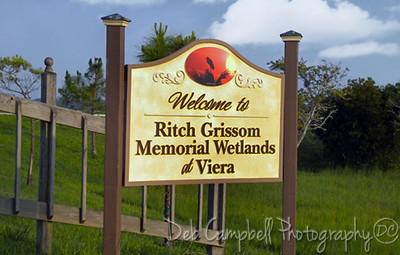 Welcome to  Ritch Grissom Memorial Wetlands Viera Wetlands Melbourne, Florida
