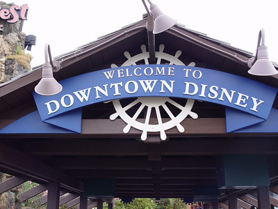 Downtown Disney/Pleasure Island - April 8, 2006