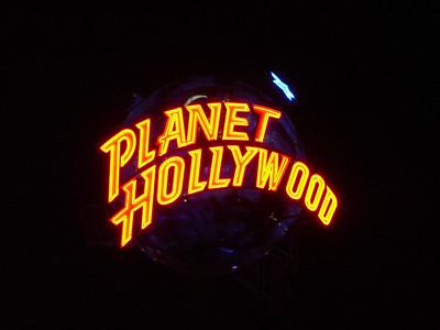 Planet Hollywood in Pleasure Island
