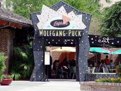 Wolfgang Puck in Pleasure Island