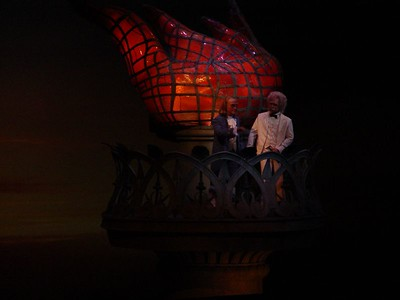 U.S.A. Pavilion - The American Adventure Theatrical Show