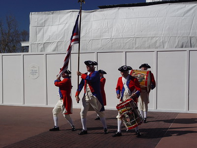 U.S.A. Pavilion - Spirit of America Fife & Drums Corp - World Showcase