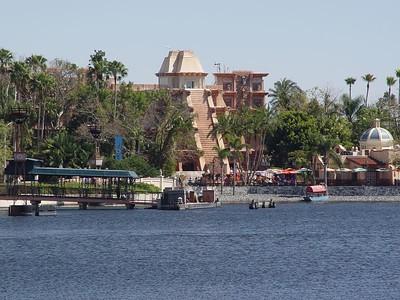View from World Showcase Lagoon