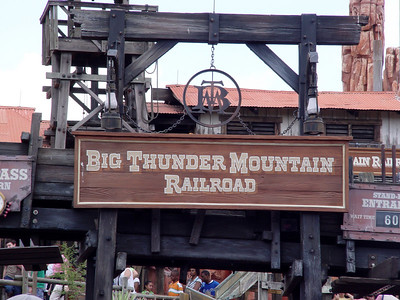 Big Thunder Mountain Railroad - Frontierland