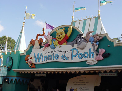 The Many Adventures of Winnie the Pooh - Fantasyland