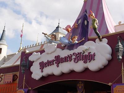 Peter's Pan Flight - Fantasyland