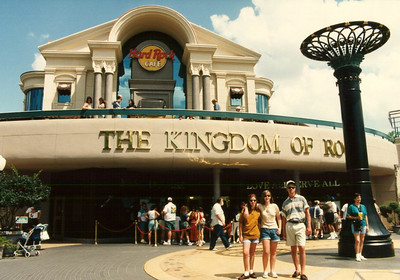 Orlando - Disneyworld  1995