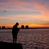 Sunrise over Estero Bay