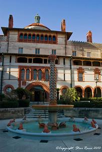 Flagler College (former Ponce de Leon hotel), St. Augustine, Florida.
