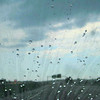RainX with Christine driving through a HORRIBLE storm!!!<br /> We were driving through a HORRIBLE rainstorm & this is how the windshield looked like - NO wipers needed!!!