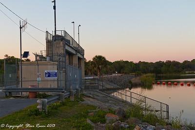 The Inglis Main Spillway at Lake Rousseau.